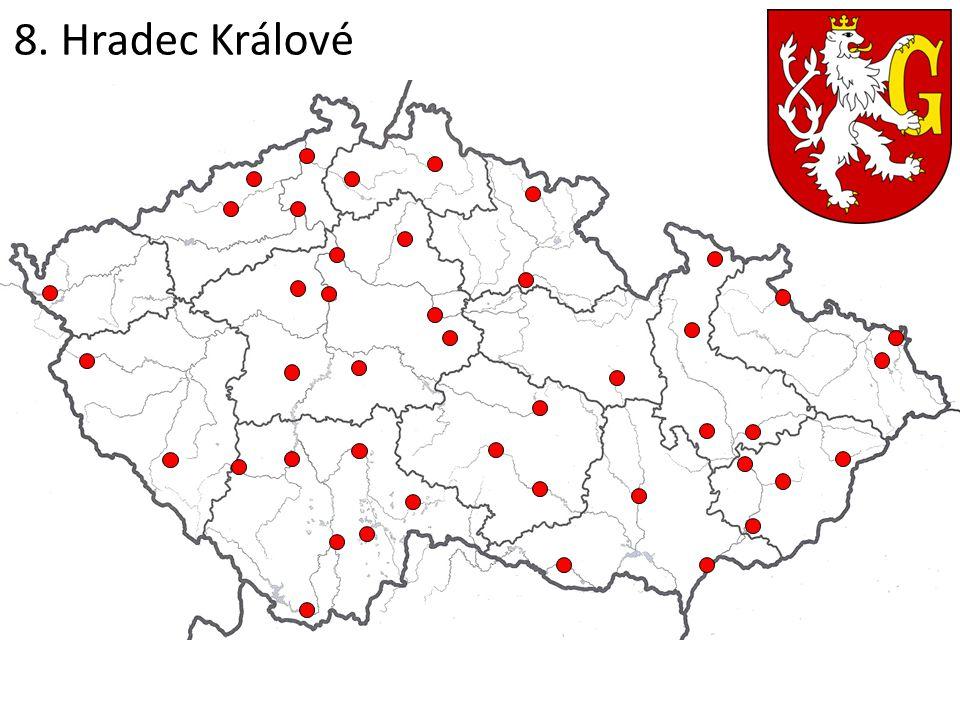8. Hradec Králové
