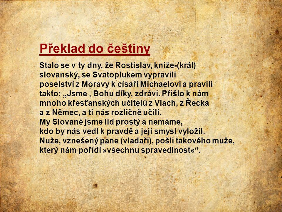 Překlad do češtiny