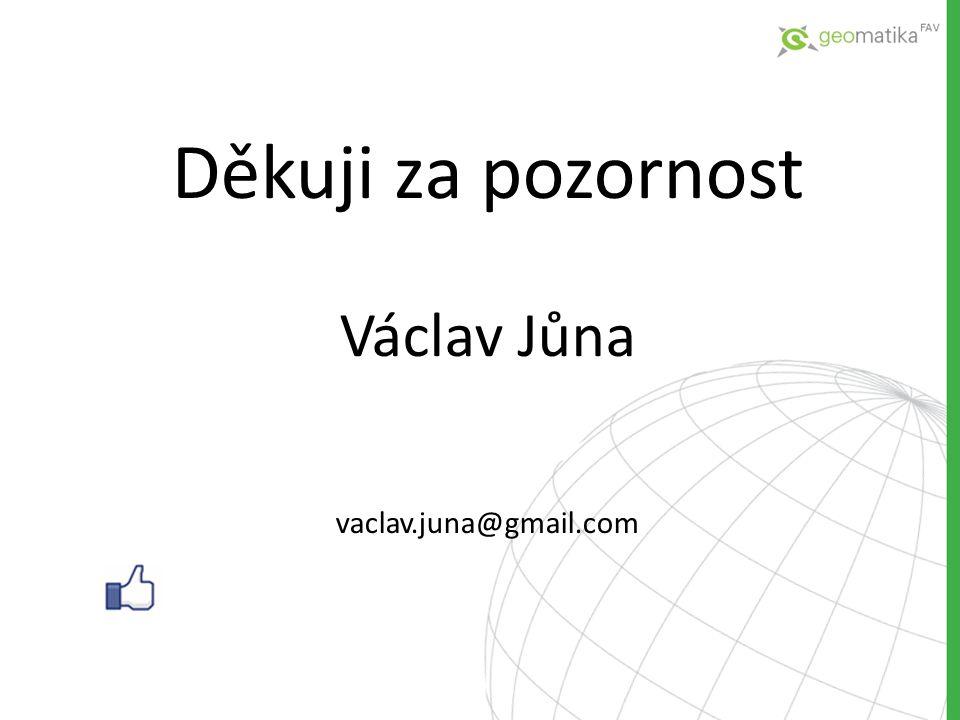 Děkuji za pozornost Václav Jůna vaclav.juna@gmail.com