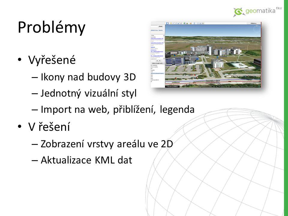 Problémy Vyřešené V řešení Ikony nad budovy 3D Jednotný vizuální styl