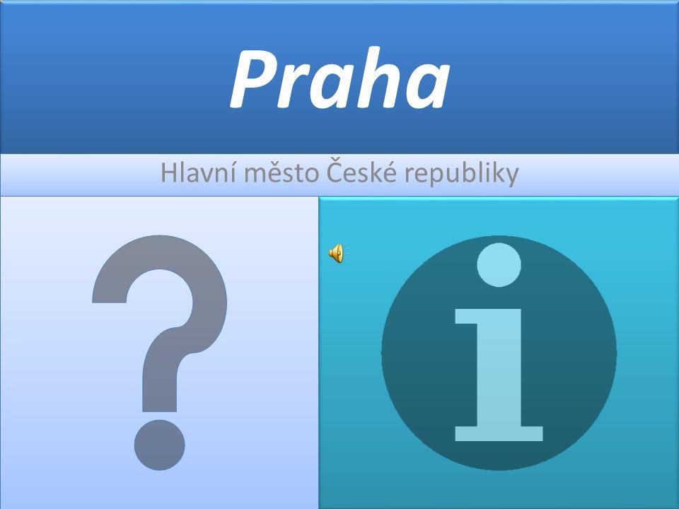 Hlavní město České republiky