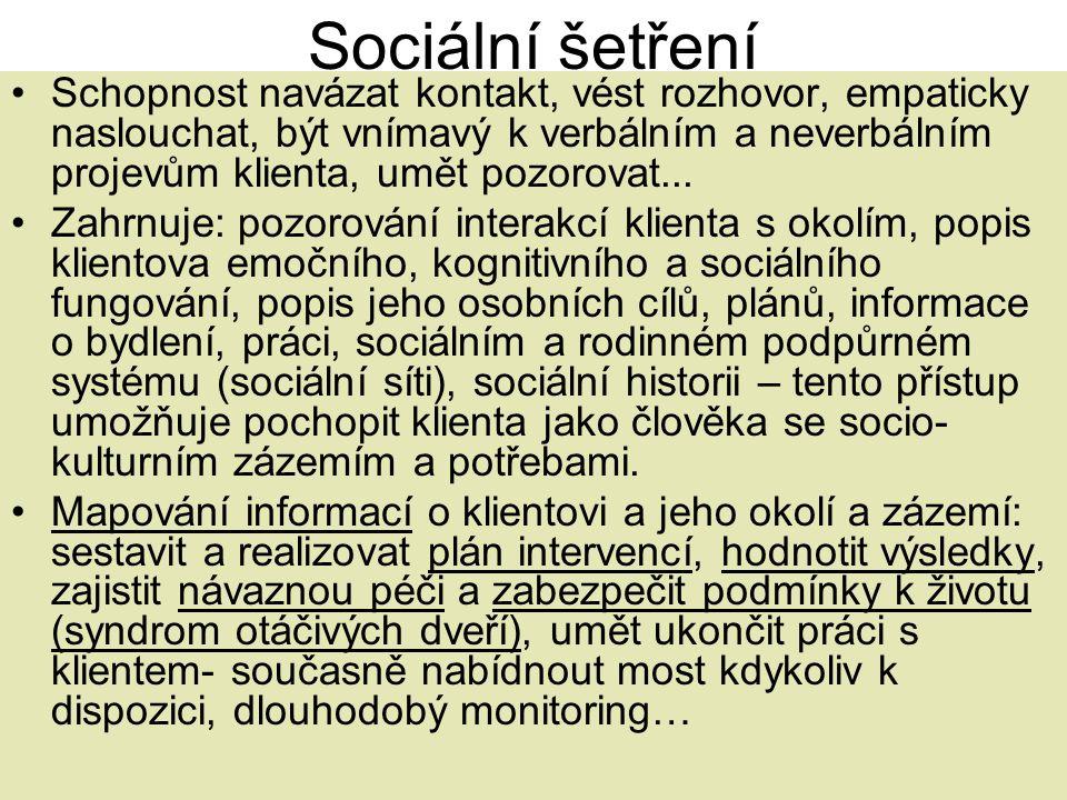 Sociální šetření