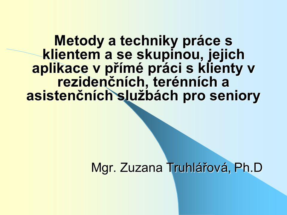 Mgr. Zuzana Truhlářová, Ph.D