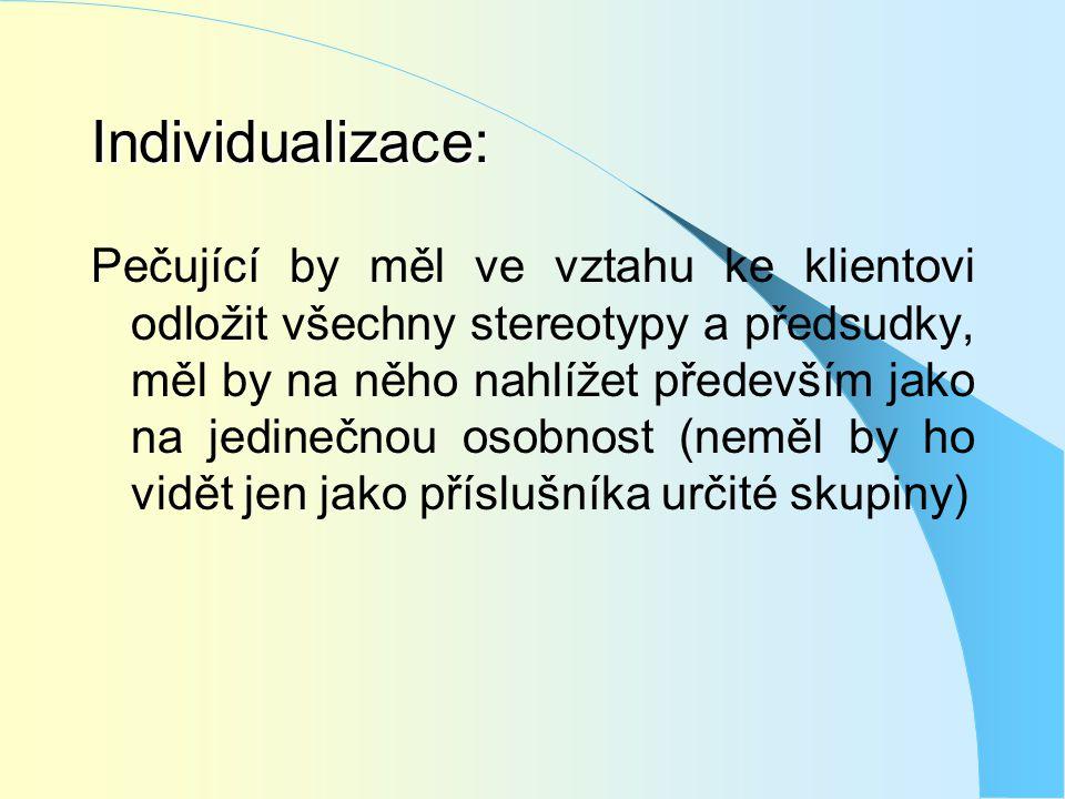 Individualizace: