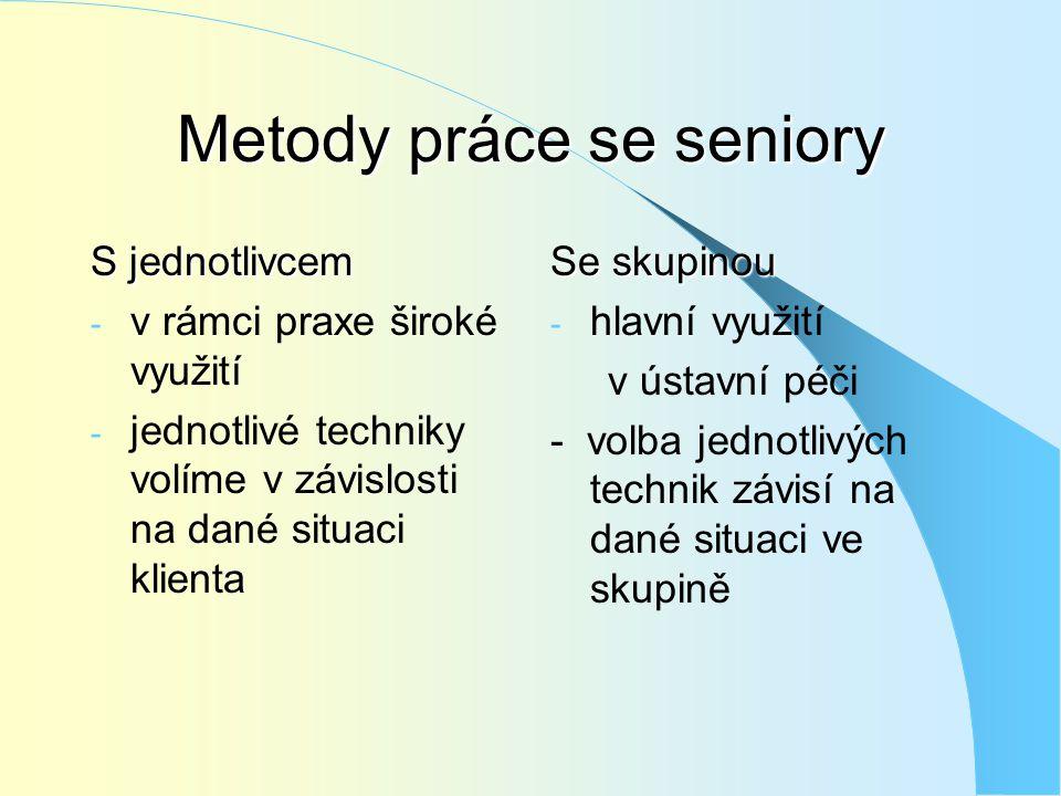 Metody práce se seniory