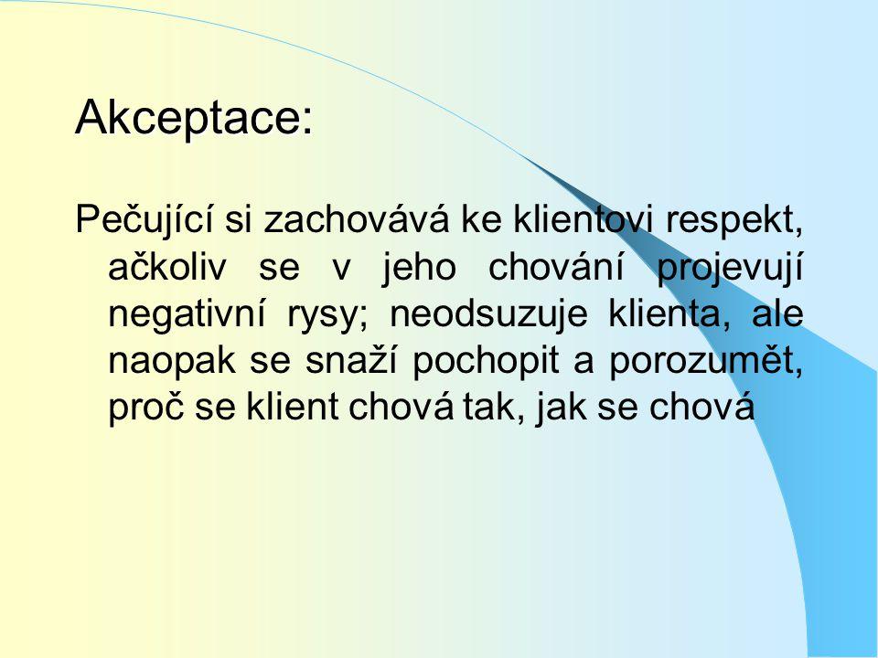 Akceptace: