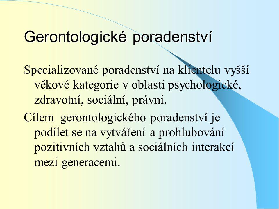 Gerontologické poradenství