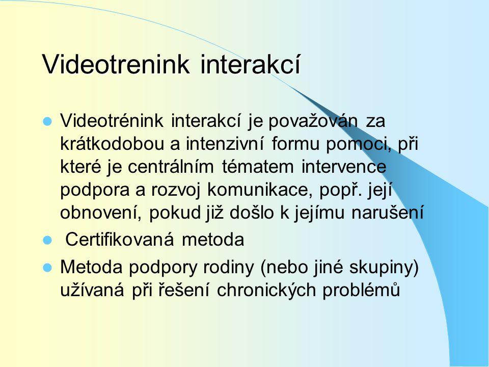 Videotrenink interakcí