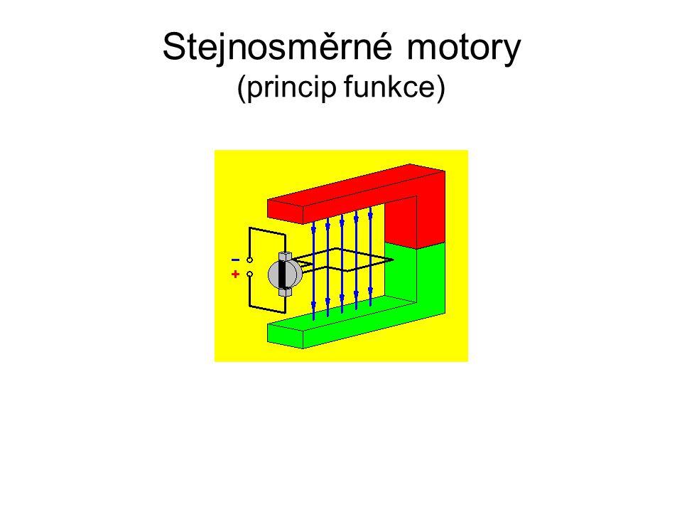 Stejnosměrné motory (princip funkce)