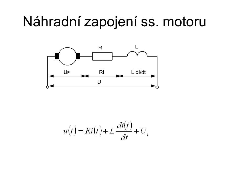 Náhradní zapojení ss. motoru