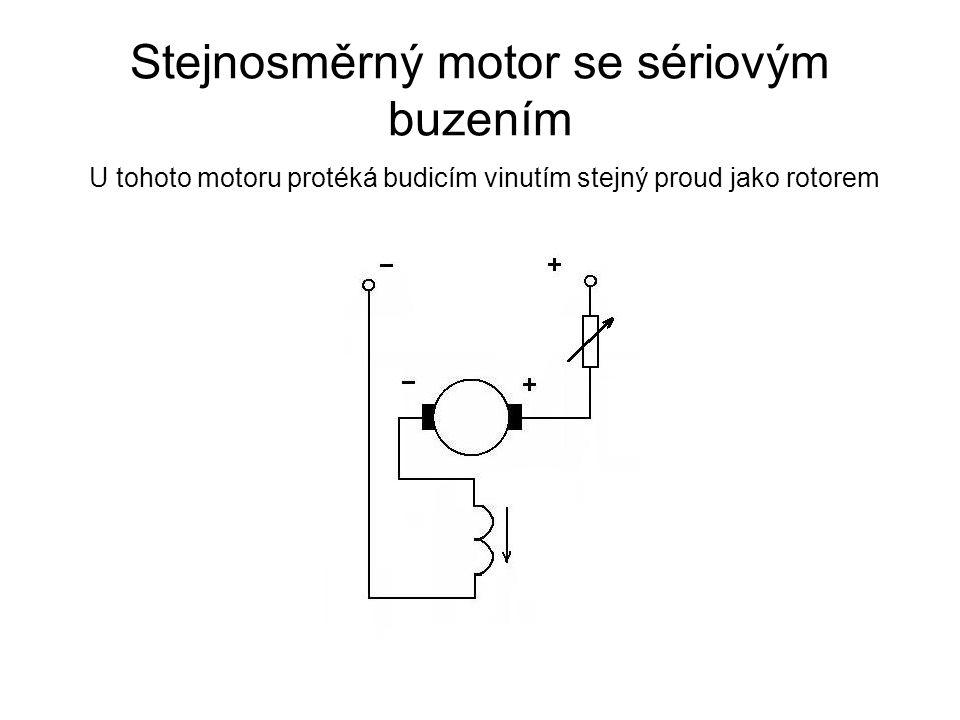 Stejnosměrný motor se sériovým buzením