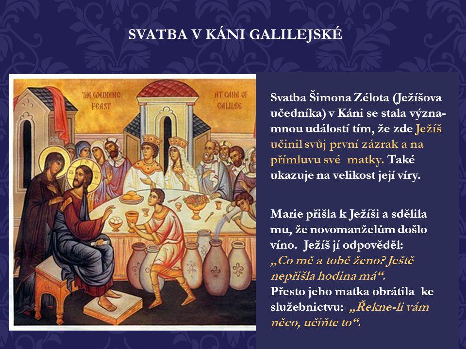 SVATBA V KÁNI GALILEJSKÉ