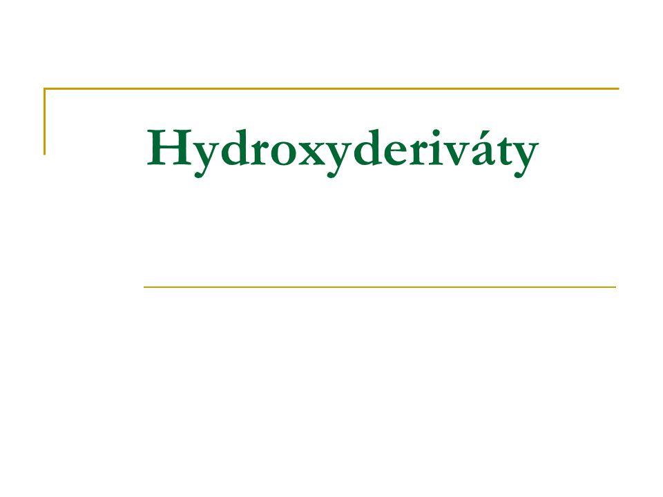 Hydroxyderiváty