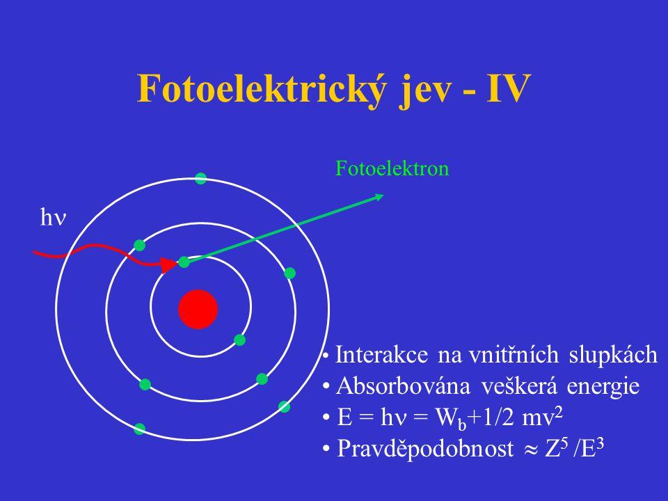 Fotoelektrický jev - IV