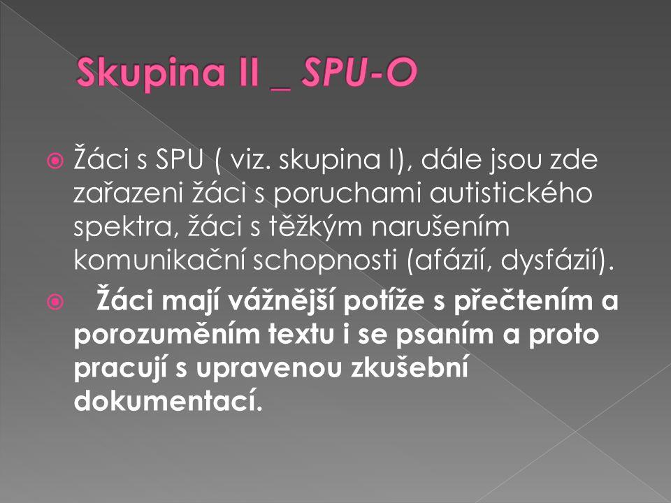 Skupina II _ SPU-O