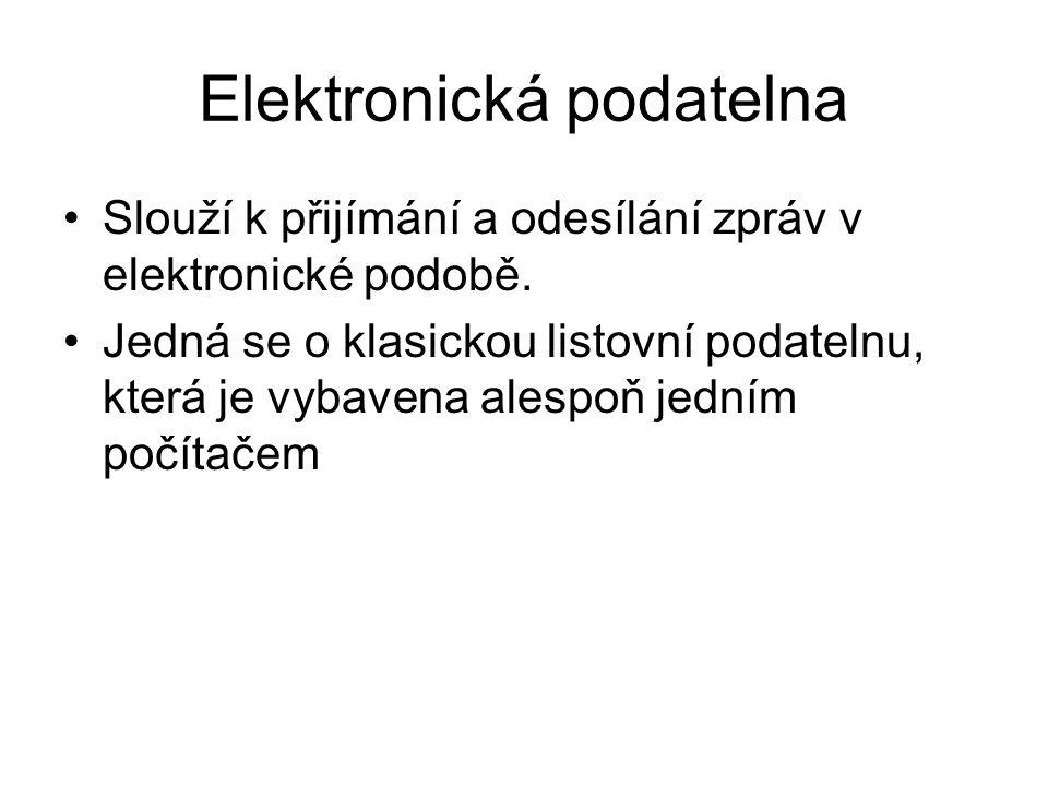 Elektronická podatelna