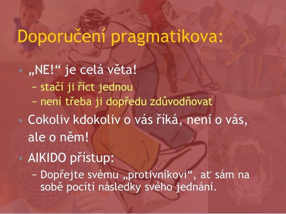 Doporučení pragmatikova: