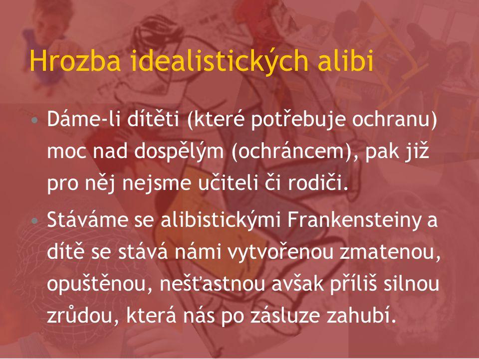 Hrozba idealistických alibi