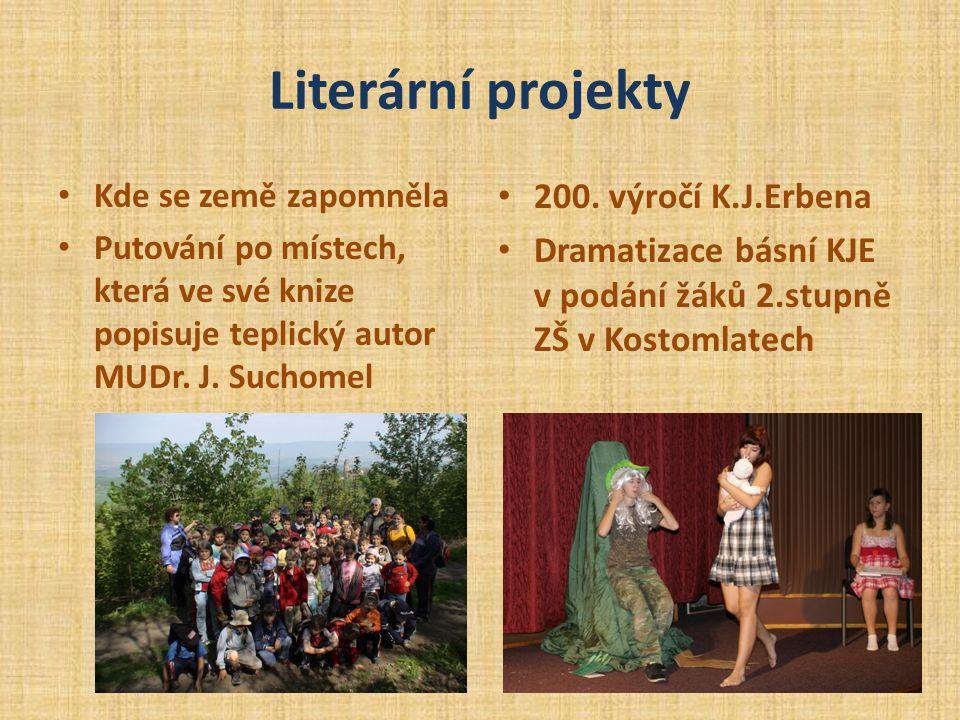 Literární projekty 200. výročí K.J.Erbena
