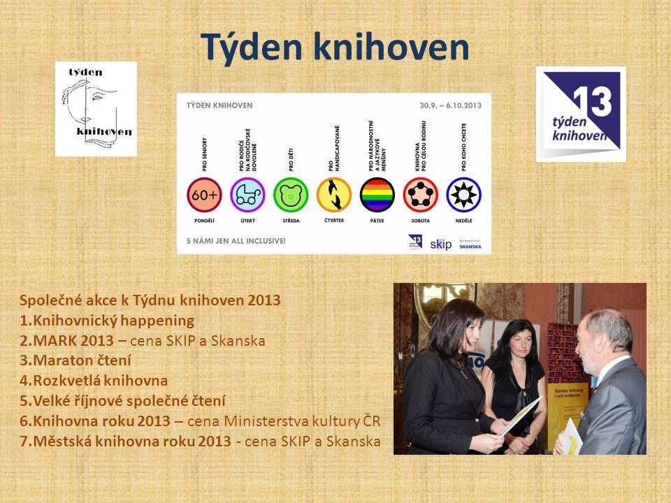 Týden knihoven Společné akce k Týdnu knihoven 2013