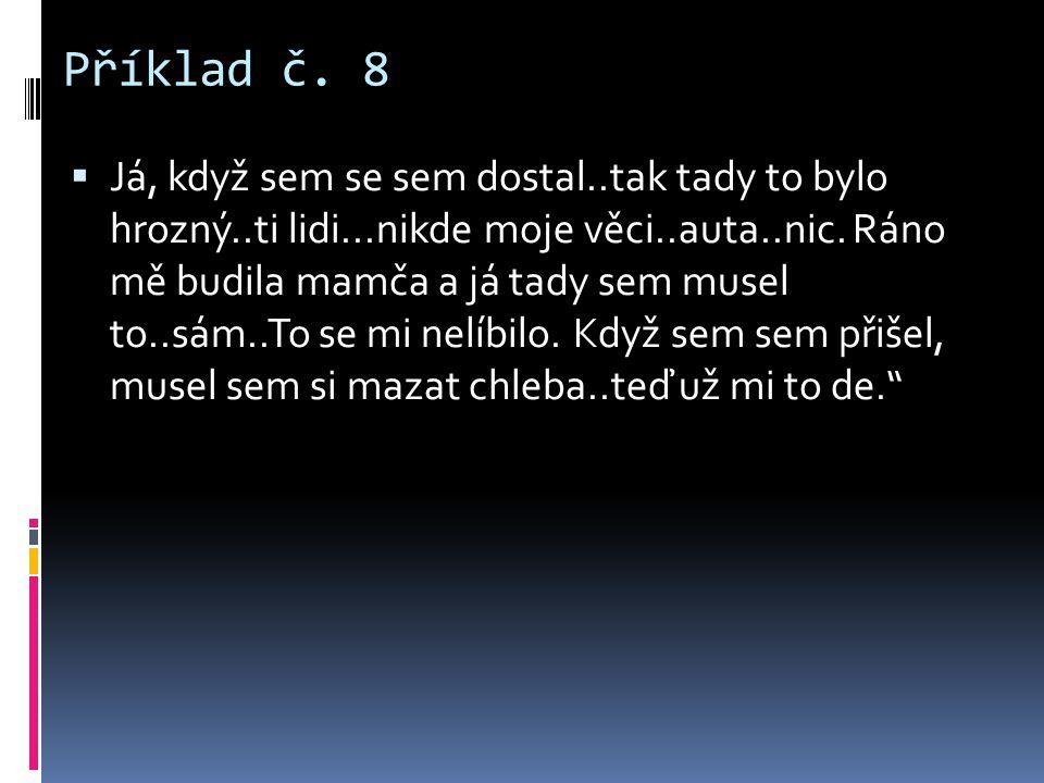 Příklad č. 8