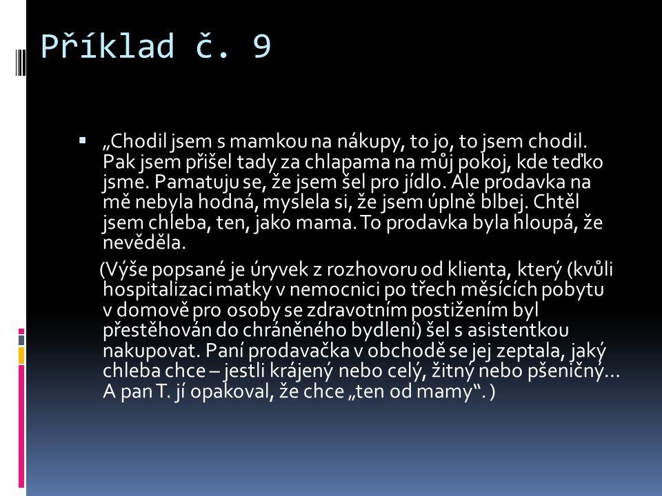 Příklad č. 9