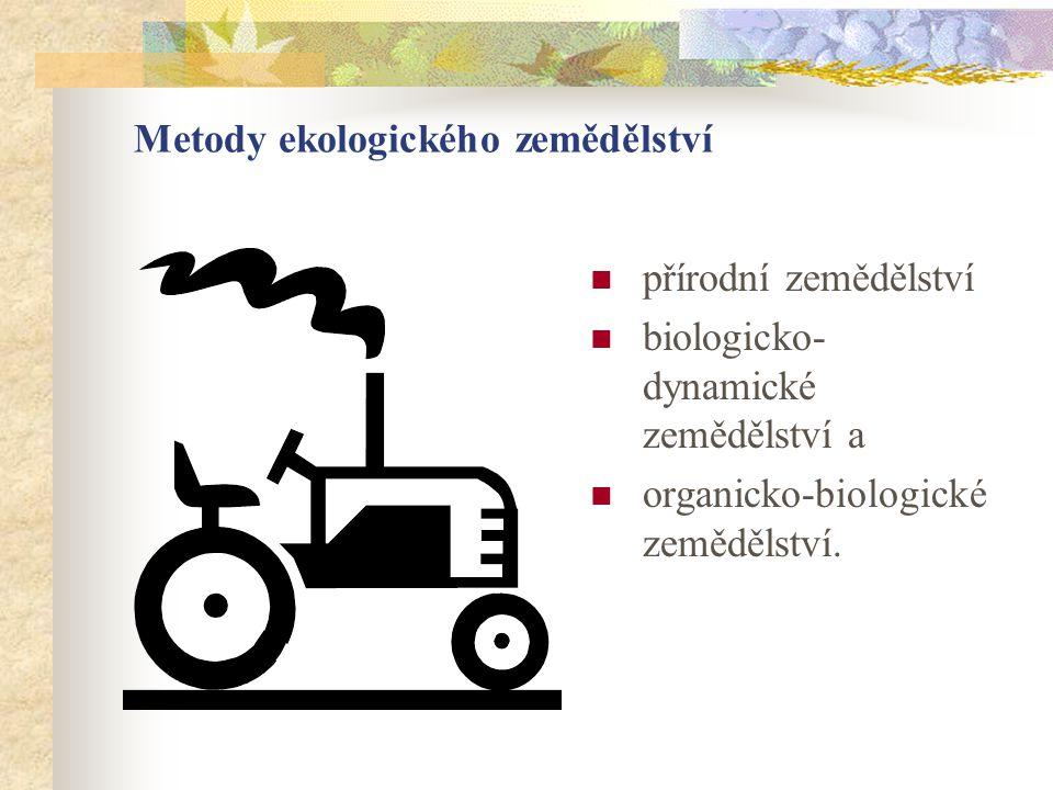Metody ekologického zemědělství