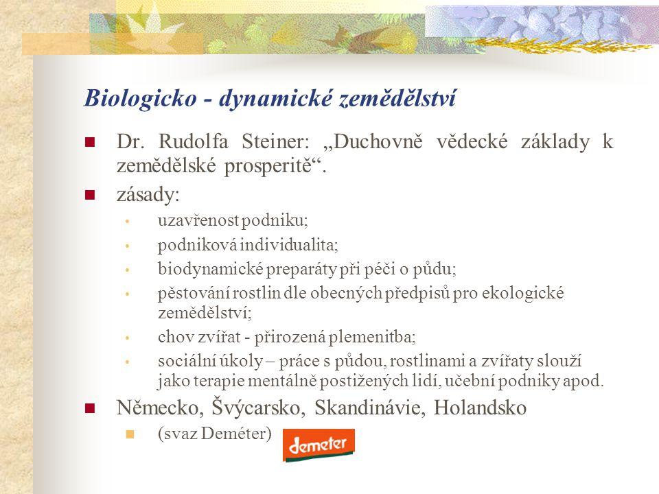 Biologicko - dynamické zemědělství