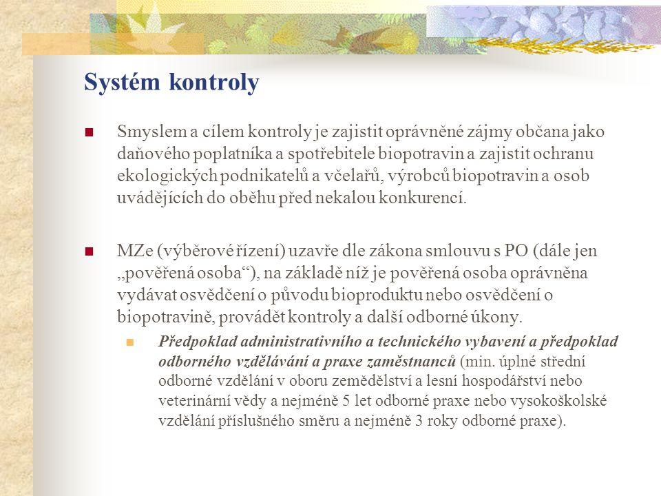 Systém kontroly
