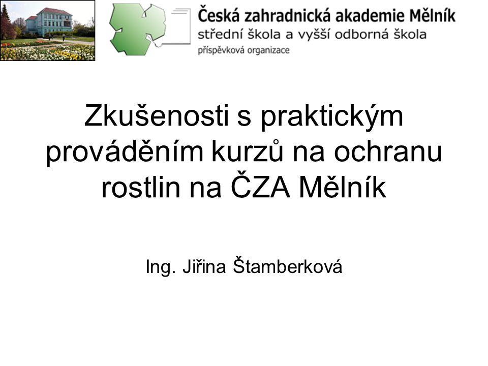 Ing. Jiřina Štamberková