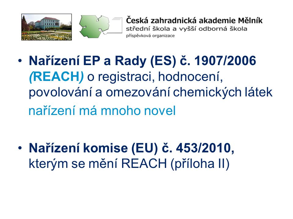 Nařízení EP a Rady (ES) č