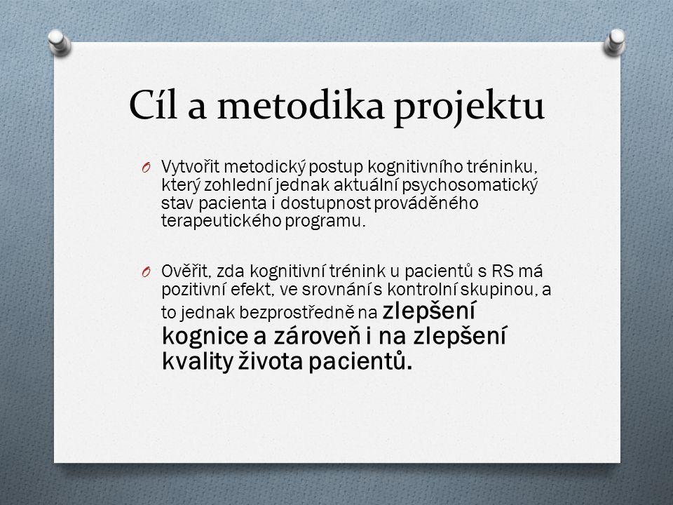 Cíl a metodika projektu