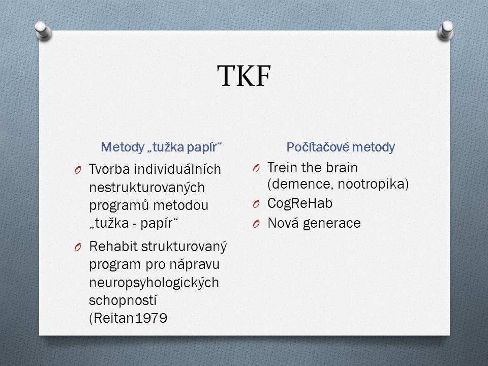 """TKF Metody """"tužka papír Počítačové metody. Tvorba individuálních nestrukturovaných programů metodou """"tužka - papír"""