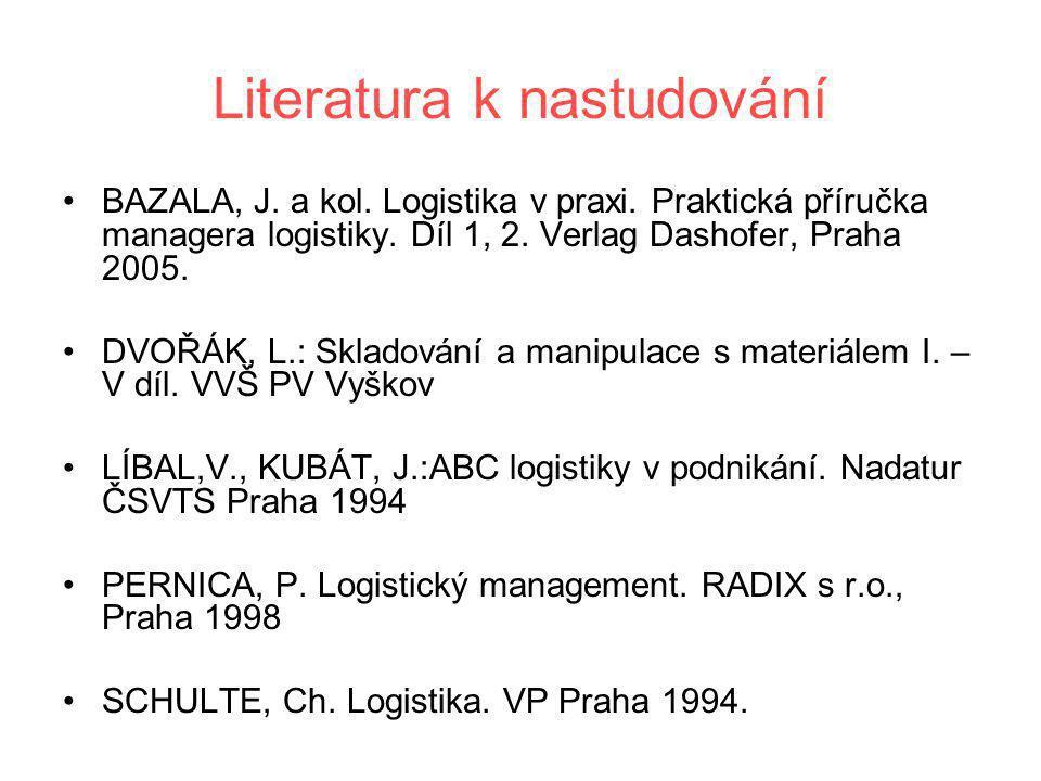 Literatura k nastudování
