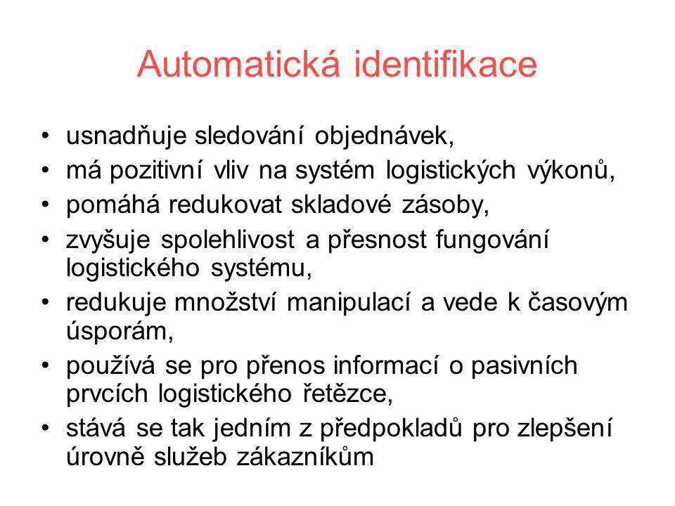 Automatická identifikace