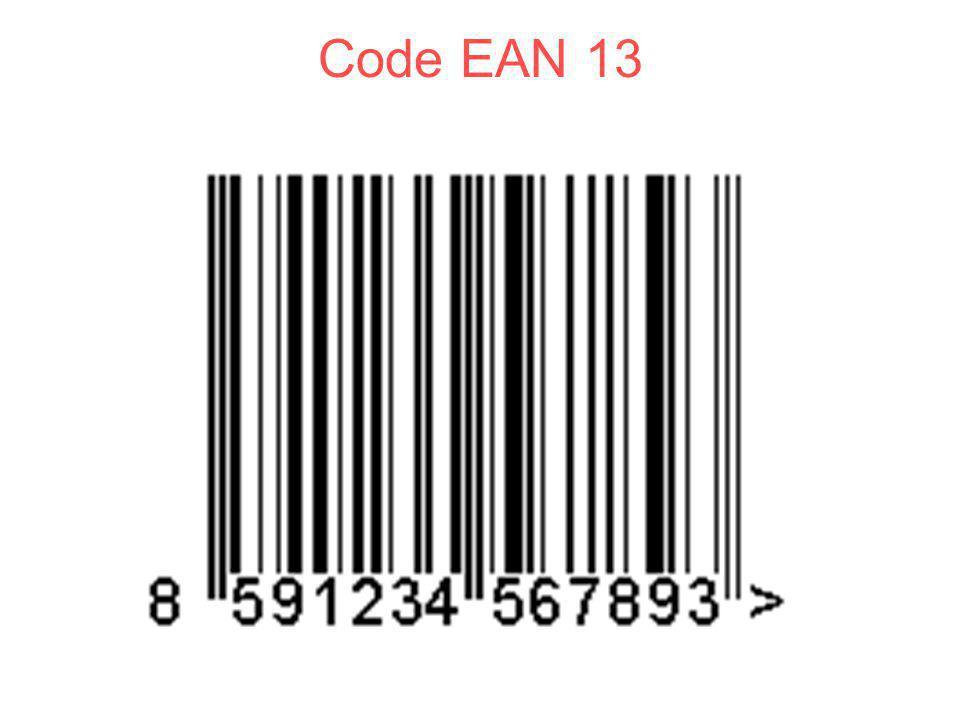 Code EAN 13