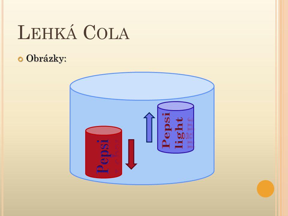 Lehká Cola Obrázky: Pepsi light