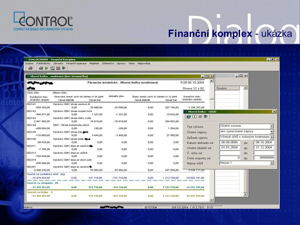 Finanční komplex - ukázka