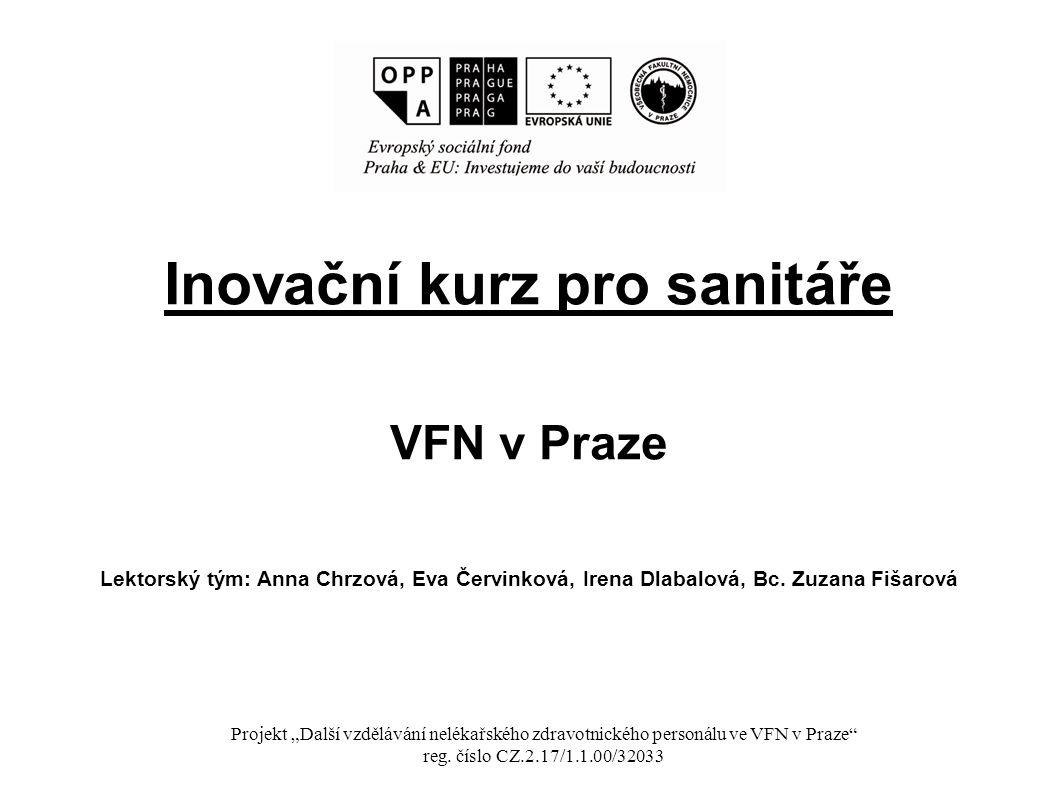 Inovační kurz pro sanitáře