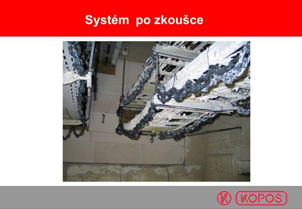 Systém po zkoušce