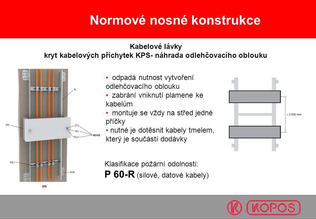 kryt kabelových příchytek KPS- náhrada odlehčovacího oblouku