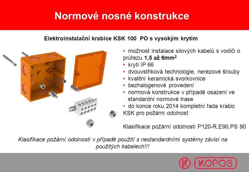 Elektroinstalační krabice KSK 100 PO s vysokým krytím