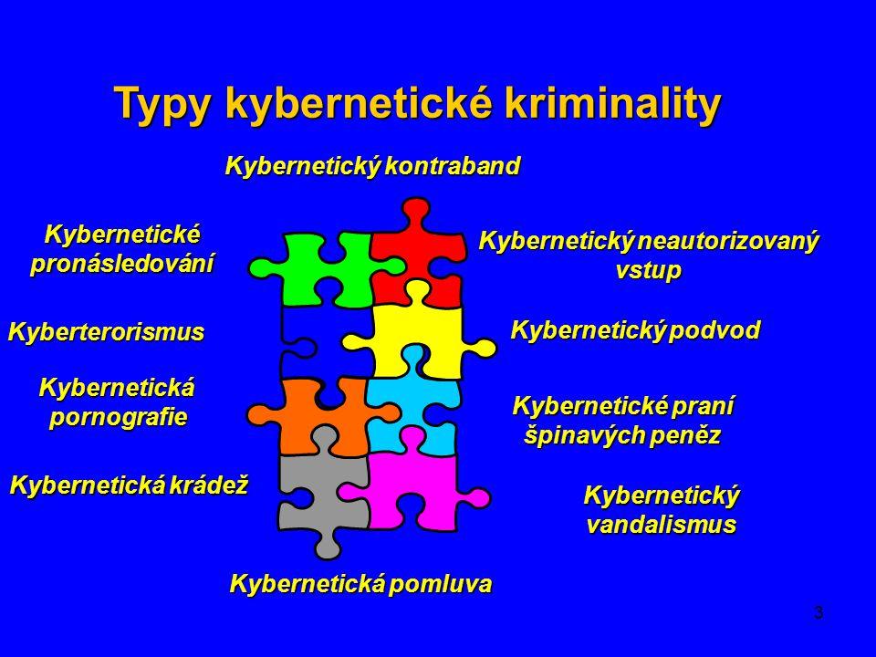 Typy kybernetické kriminality