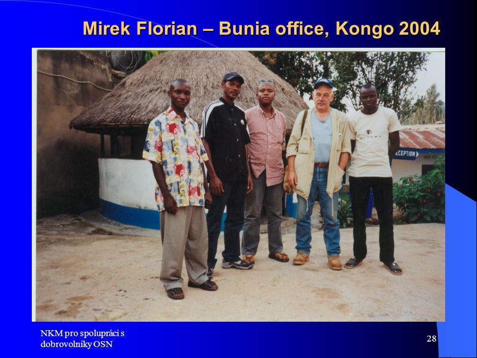 Mirek Florian – Bunia office, Kongo 2004