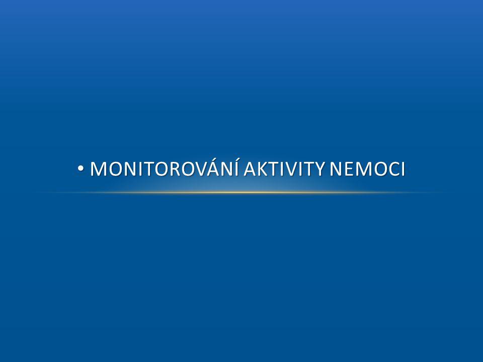 Monitorování aktivity nemoci
