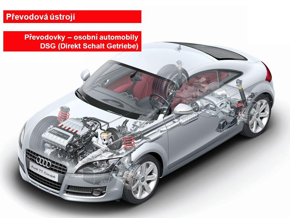 Převodová ústrojí Převodovky – osobní automobily DSG (Direkt Schalt Getriebe) 3.4.2017