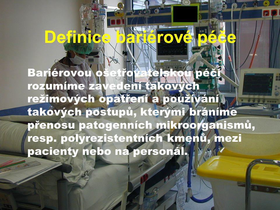 Definice bariérové péče