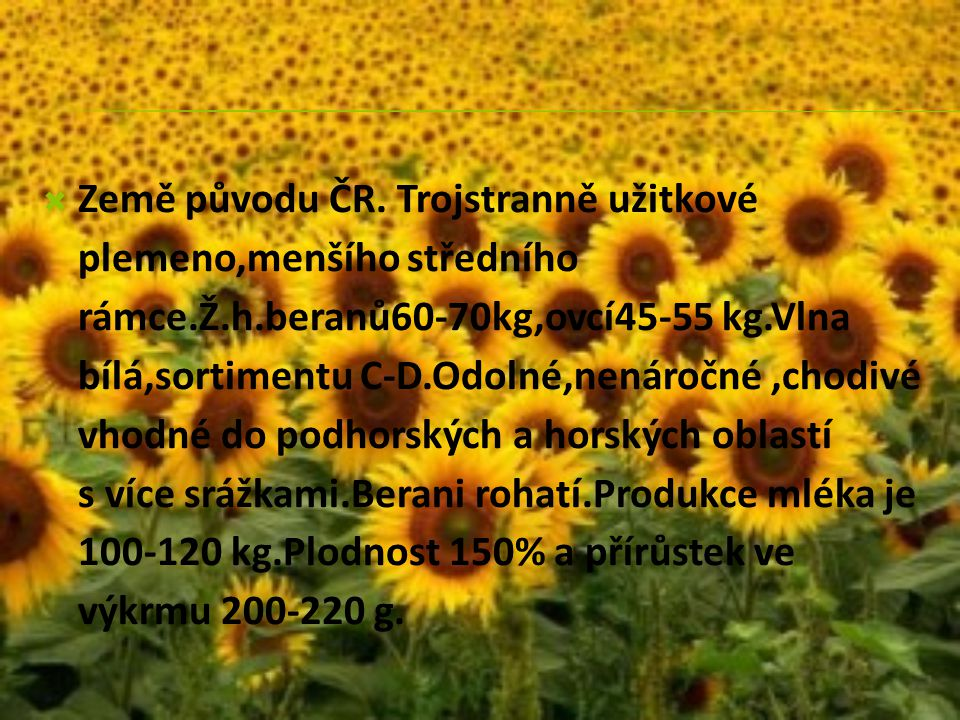 Země původu ČR.