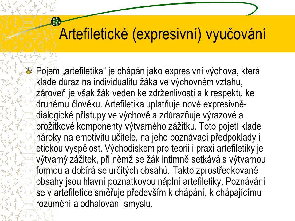 Artefiletické (expresivní) vyučování