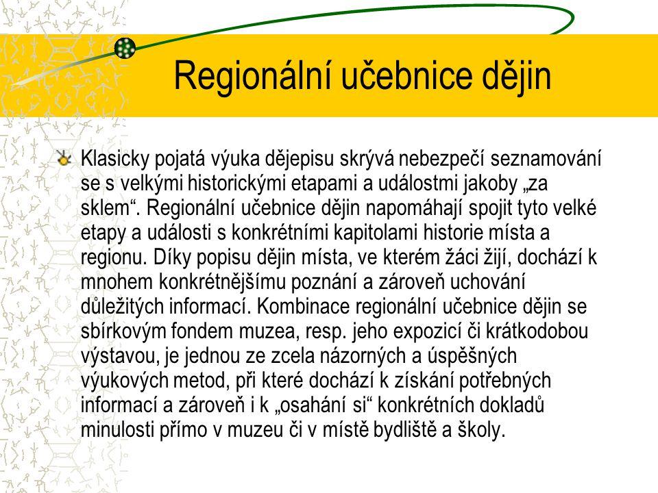 Regionální učebnice dějin